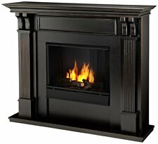 Real Flame Ashley Ventless Gel Fireplace- Black Wash - 7100-BW NEW