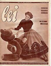 rivista LEI ANNO 1955 NUMERO 1