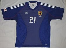 JAPAN Kazuyuki TODA Adidas JFA Real SOCCER Jersey FIFA World Cup 2002 Purple L