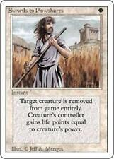 SWORDS TO PLOWSHARES x4 MP-HP Magic the Gathering MTG REVISED 3RD EDITION TVC