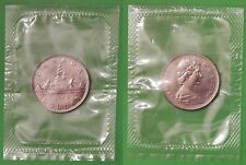 1968 Canada Normal Island 1 Dollar Sealed in Cellophane