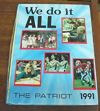 1991 The Patriot Arendell Parrott Academy Kinston, North Carolina Yearbook
