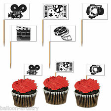 50 Hollywood VIP Awards Movies Cinema Film Party Flag Snack Picks