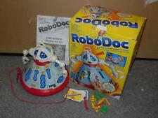 Vintage Robodoc Tomy Toy Electronic Tin Toy Board Game Robot Figure W/box VGC