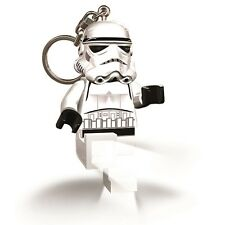 Official LEGO Star Wars Stormtrooper LED Key Light Keyring Keychain- Torch Boxed
