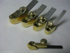 5 pcs various size Mini brass convex bottom planes Violin/Cello making tools