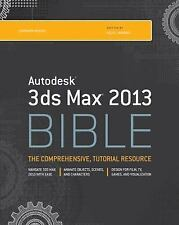 Autodesk 3ds Max 2013 Bible, Murdock, Kelly L., Good Book