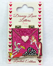 Disney Pin 2016 LOVE LETTERS ROGER & JESSICA RABBIT Limited Edition Hinged
