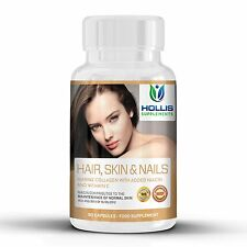 Marine Collagen 90 Capsules 400mg Healthy Skin and Tissue Anti Ageing