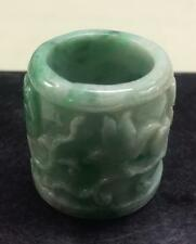 JADEITE THUMB RING, GRADE A Lot 149