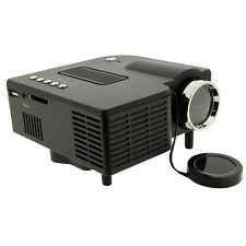 Mini Portable HD LED Projector Home Cinema Theater PC Laptop VGA USB SD AV LCD
