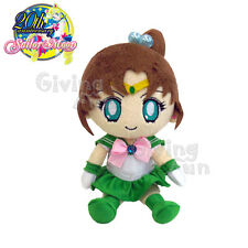 "GENUINE BANDAI Sailor Moon 20th Anniversary Sailor Jupiter 8"" Plush Doll Toy JP"
