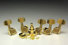 E-Gitarren Tuners Mechaniken 3/3 Gold