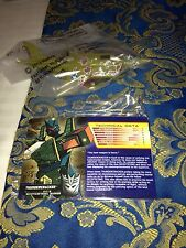 TRANSFORMERS Botcon 2013 FIGURE THUNDERCRACKER MACHINE WARS exclusive Figure