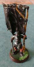LOTR Warhammer Uruk-Hai Command Flag Bearer Metal Miniature Painted & Based