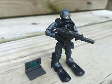 LEGO / Mega Bloks Call of Duty - Seal Team Frogman Silver Suit Underwater Diver