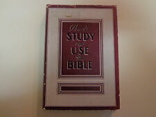 How to Study and Use the Bible HBDJ 1949 Park Hays Miller Reference