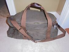 J .CREW MEN'S ABINGDON WEEKENDER  SPORTING DUFFLE BAG /GYM NWT #05541 IN GREEN