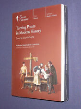 Teaching Co Great Courses CDs             TURNING POINTS in MODERN HISTORY   new