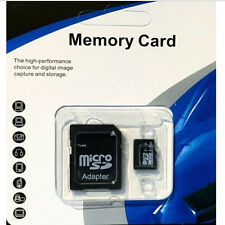 8 GB Micro SD TF Flash Memory Card Free Adapter MicroSD Micro SDHC Class 10