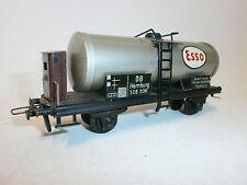 TRIX Express H0  20/78 Esso Kesselwagen   DB Hamburg  528 536  mit Bremserhaus
