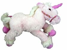 42cm Gosh Designs Fantasy Unicorn Plush Soft Toy - Fluffy Pink Design - (PL2)