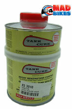 Tank Cure Motorcycle Fuel / Petrol Tank Repair Epoxy Sealant 450g Classic Bike