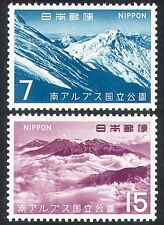 Japan 1967 Mountains/National Park/Nature 2v set (n25494)