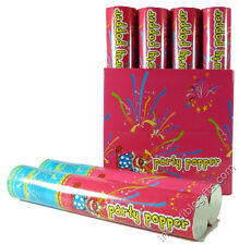 "PARTY POPPER 12"" (RED & BLUE) CASE OF 12 PIECES"
