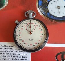 Montre HEUER LEONIDAS RALLY rattrapante CAL 7701 split timer chronomètre