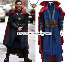 FREE WW SHIP 2017 Movie Doctor Strange Dr. Stephen Costume Cosplay Comic Marvel
