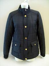 NEW Tory Burch Colin Puffer Jacket Quilted Black Medium New W Tags FREE Shipping