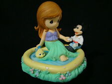 zb Precious Moments-Disney Little Mermaid-Ariel, Flounder/Mickey Mouse In Pool