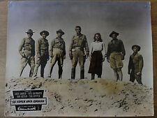 Aushangfoto SIE KAMEN NACH CODURA Gary Cooper Rita Hayworth Tab Hunter Van Hefli