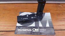 Olympus Winder 2 & instructions manual - For OM1 OM2 OM4 OM10 OM20 etc- FREEPOST