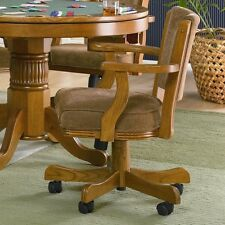 Coaster 100952 - Mitchell Upholstered Arm Game Chair - Oak
