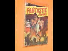 PULP : FANTASTIC NOVELS MAGAZINE 4.1951 couverture et illustrations de LAWRENCE