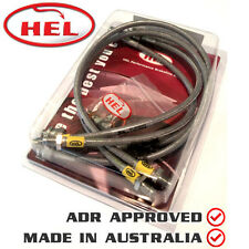 HEL Brake Lines KIT For Vauxhall Cavalier MK3 1.7TD (1992-1995)VAU-4-109