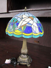 DUCK HUNTING BLACK LAB Tiffany Stained Glass LAMP NEW IN BOX Memory Company