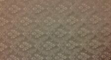 "RICHLOOM VICTORIAN SABLE GRAY FLORAL JACQUARD FURNITURE FABRIC BY THE YARD 58"" W"