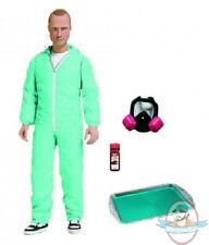 """Breaking Bad 6"""" Jesse Pinkman PX Blue Hazmat Suit Figure by Mezco  New"""