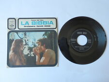 Disco 45 giri film LA BIBBIA colonna sonora orchestra DAVID ROSE