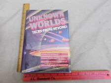 1988 Science Fiction Fantasy Short Stories from Unknown Worlds Magazine