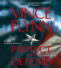 PROTECT AND DEFEND Vince Flynn - 5 CD Audio Talking Book / Unabridged NEW