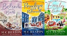 M.C. Beaton, set da 3 libri, in inglese