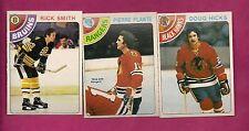 1978-79 OPC SMITH + PLANTE + HICKS NRMT CARD (INV#5005)