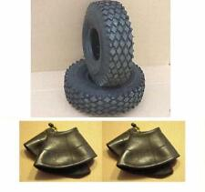 2 NEW TIRES 410/350-5 & 2 NEW TUBES FOR GO KART GO CART PARTS MINIBIKE