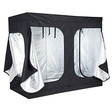 "96""x48""x78"" 600D Indoor Grow Tent Room Reflective Mylar Hydroponic Non Toxic Hut"