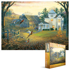 Jigsaw  EG80000605   Eurographics Puzzle 1000 Pc - Country Crossing Pheasants