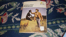 Enjoy your poodle vintage 30 page book The Pet Library book dog puppy fun
